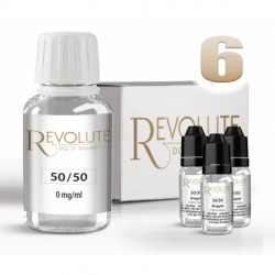 Pack 100 ml DIY 6 en 50/50 Revolute